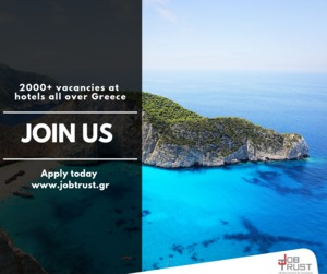 HOTEL STAFF WANTED FOR 5* HOTELS IN GREECE